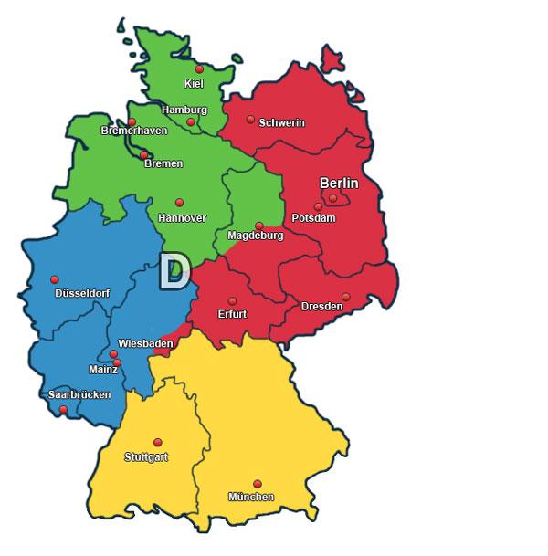 Karte Außendienst