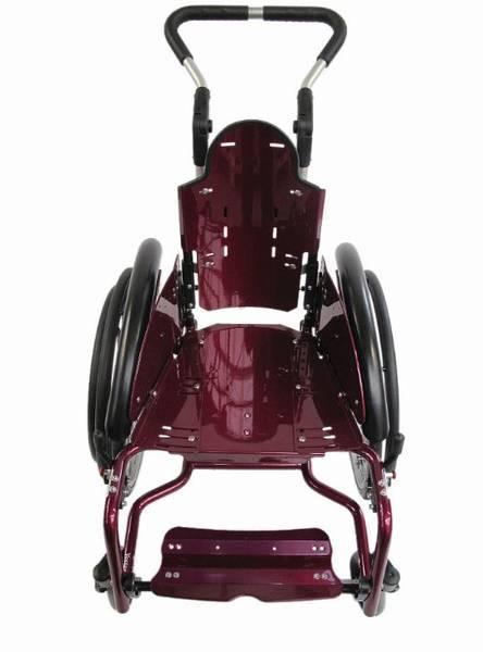 Bilder des Modells Tiltable wheelchair with adjustable seat abduction