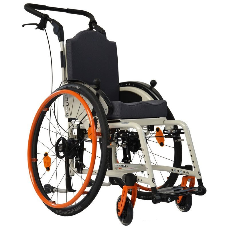Rigid wheelchairs Vector