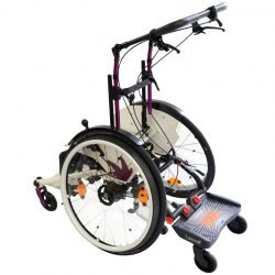 Wheelchair with BuggyBoard