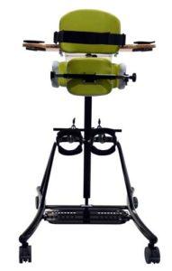 SORG Stehtrainer Stehgerät Boogie Fix schwarz grün