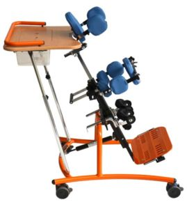 SORG Stehtrainer Stehgerät Boogie Swing blau orange 04