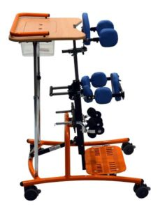 SORG Stehtrainer Stehgerät Boogie Swing blau orange 05