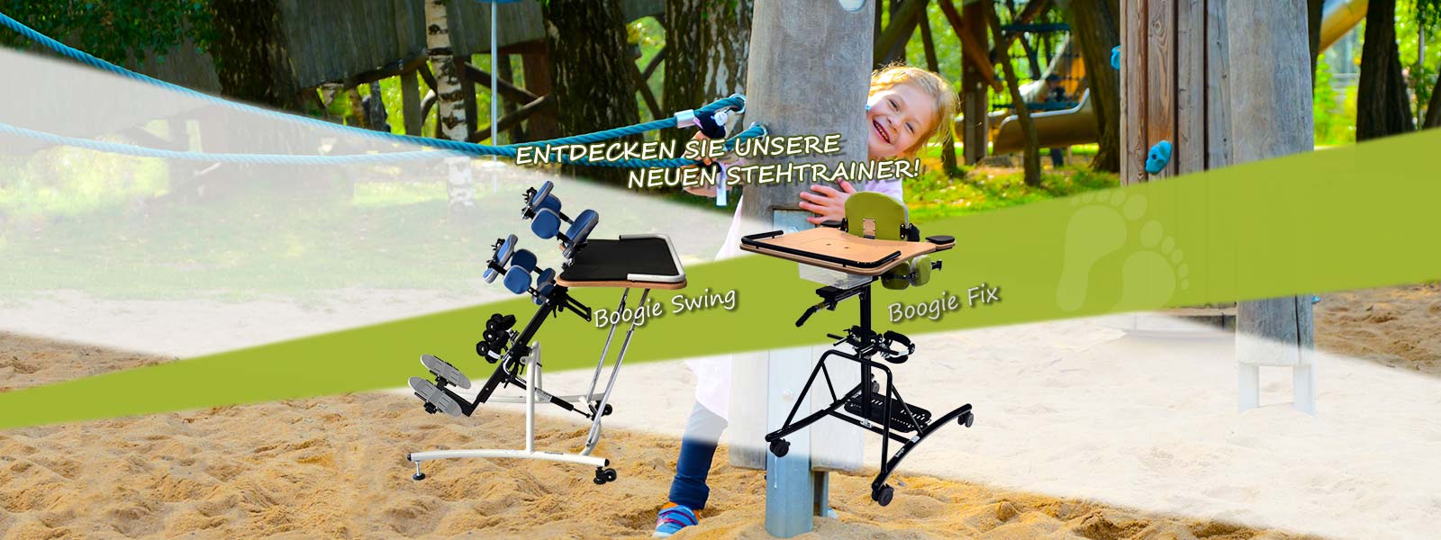 Neigbarer Stehtrainer Boogie Swing