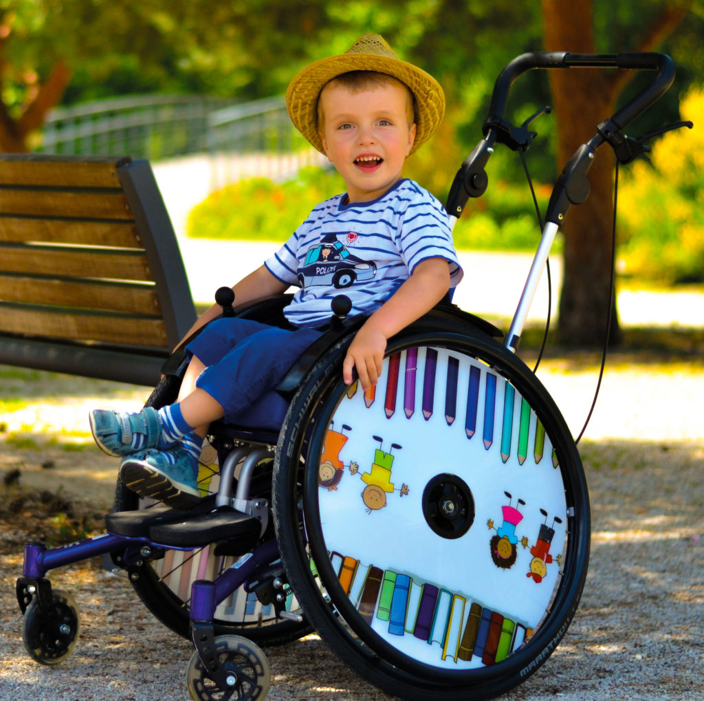 Paediatric wheelchair for kids - Mio from SORG