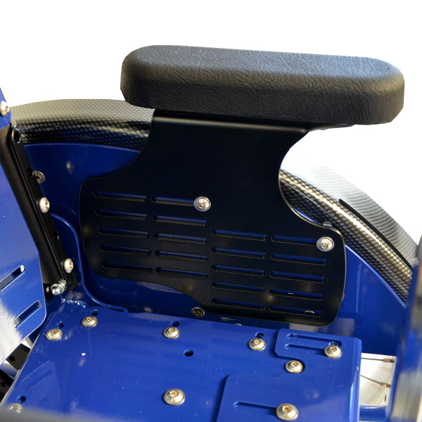 Bilder des Modells Tiltable wheelchair with height and depth adjustable arm rests