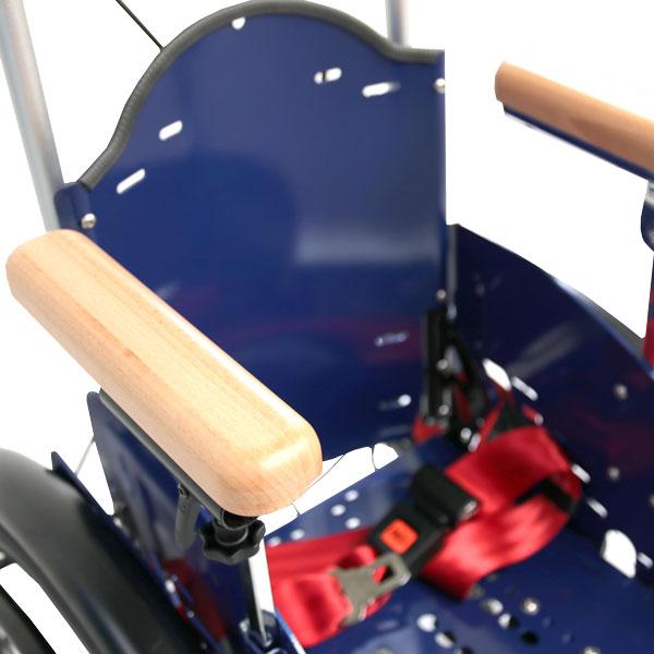Bilder des Modells Wheelchair with wooden armrests