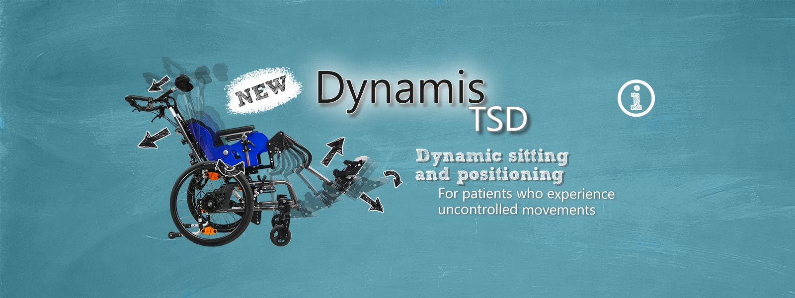 dynamic sitting and positioning wheelchair