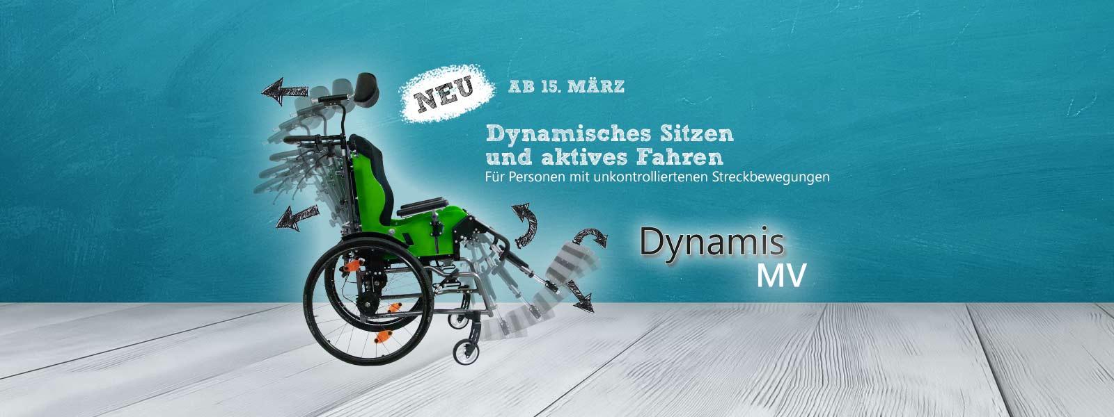 Dynamischer Rollstuhl