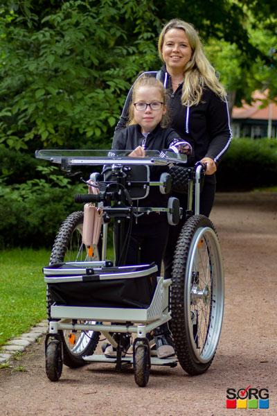 Bilder des Modells Stehfahrer für Außen und Innen mit Transportmöglichkeit
