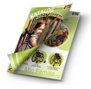 Katalog Rollstühle Stehgeräte Sonderbau Kinder Jugendliche Erwachsene