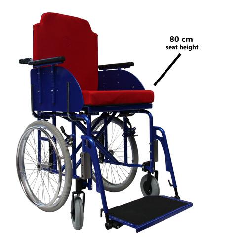 Customized products Reinforced XXL folding wheelchair