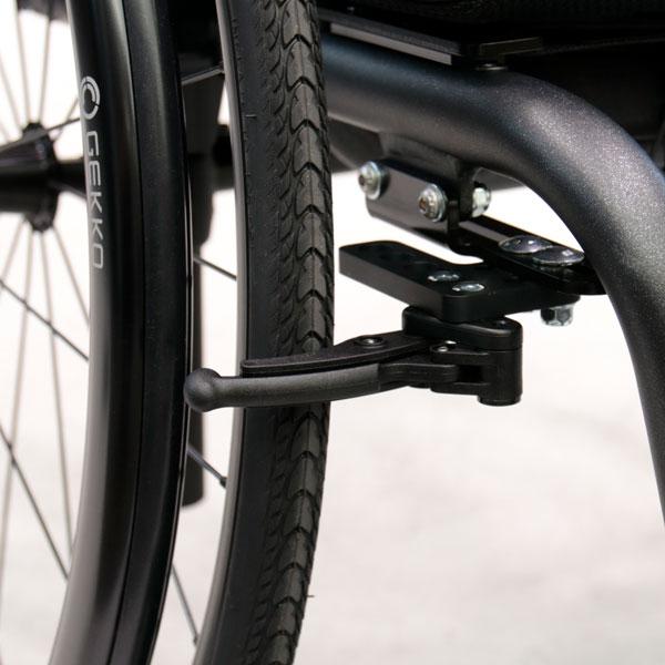 Rollstuhl Airon neu Kompaktbremse Klemmbremse